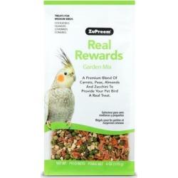ZuPreem Real Rewards Garden Mix Treats for Medium Birds, 6 OZ found on Bargain Bro Philippines from petco.com for $5.99