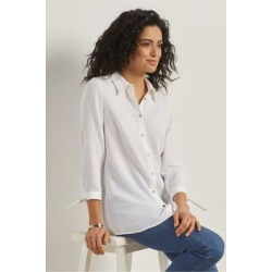 Women's Sunset Shirt by Soft Surroundings, in White size XS (2-4)