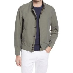 Cotton Blend Bomber Jacket - Green - Corneliani Jackets found on MODAPINS from lyst.com for USD $795.00