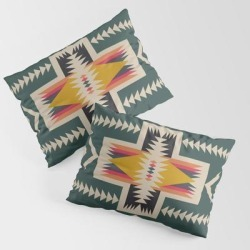 King Size Pillow Sham | Cabin In The Woods by Urban Wild Studio Supply - STANDARD SET OF 2 - Cotton - Society6 found on Bargain Bro from Society6 for USD $30.39