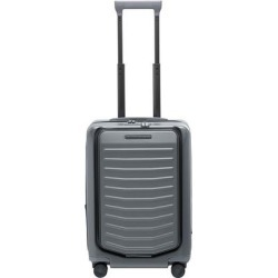 Roadster Carry-on Expandable 21-inch Spinner Suitcase - Black - Porsche Design Luggage found on Bargain Bro from lyst.com for USD $418.00
