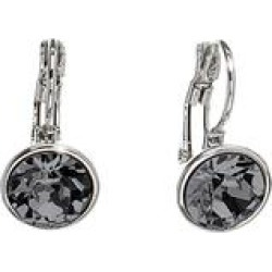 MICALLA Jewelry Women's Earrings Silvernight - Silvertone & Silvernight Drop Earrings With Swarovski Crystals found on Bargain Bro India from zulily.com for $9.99