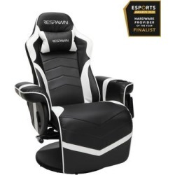 RESPAWN-900 Racing Style Gaming Recliner in Reclining Gaming Chair in White - OFM RSP-900-WHT found on Bargain Bro Philippines from totally furniture for $303.97