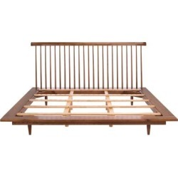 Safavieh Couture Elliott Farmhouse Wood Spindle Bed found on Bargain Bro from Overstock for USD $1,201.93