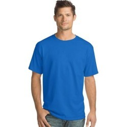Hanes Men's TAGLESS ComfortSoft Crewneck T-Shirt (Deep Red - XL) found on Bargain Bro India from Overstock for $14.78
