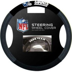 NeoPlex NCAA Steering Wheel CoverPolyester/Polyester blend in Black, Size 15.0 H x 15.0 W x 1.0 D in | Wayfair K98575= found on Bargain Bro Philippines from Wayfair for $21.99