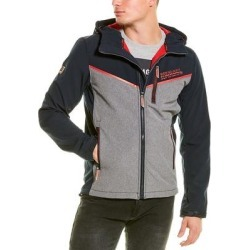 Superdry Hooded Paralex Windtrekker Jacket (L), Men's, Black(polyester) found on Bargain Bro India from Overstock for $76.99
