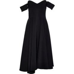 Short Dress - Black - Sara Battaglia Dresses found on Bargain Bro Philippines from lyst.com for $192.00