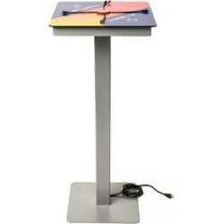 KwikBoost Mini Power Table (No Wireless Charging), Size 42.0 H x 18.0 W x 18.0 D in   Wayfair KB-94010 found on Bargain Bro Philippines from Wayfair for $839.99