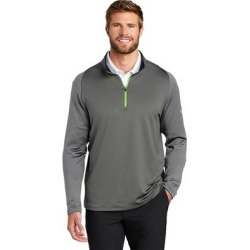 Nike Men's Dri-FIT Stretch 1/2 Zip Warm Up Jacket found on Bargain Bro from Overstock for USD $55.47