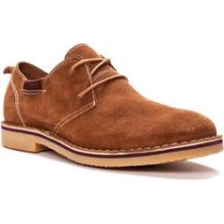 Wide Width Men's Men's Finn Oxford, Plain Toe - Suede Shoes by Propet in Tan (Size 10 1/2 W) found on Bargain Bro Philippines from fullbeauty for $89.99