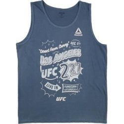 Reebok Mens Direct From Sunny Los Angeles Tank Top (Small), Men's, Blue(cotton, graphic) found on Bargain Bro from Overstock for USD $15.31