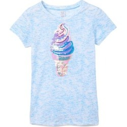 Gi Gi Girl Girls' Tee Shirts LT. - Light Blue Merled Ice Cream Cone Tee - Girls found on Bargain Bro India from zulily.com for $16.99