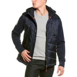 Superdry Storm Hybrid Jacket (S), Men's, Multicolor(polyester) found on Bargain Bro India from Overstock for $54.99