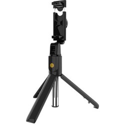 Gonoker Cellular Phone Cases Black - Black Button Battery Telescoping Monopod & Tripod found on Bargain Bro India from zulily.com for $14.99