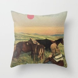 Couch Throw Pillow | Second Summer by Sarah Eisenlohr - Cover (16