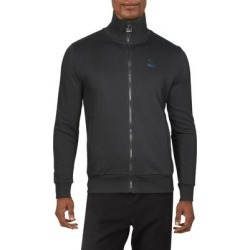 Puma Mens Athletic Jacket Fitness Running - Cotton Black/Iridescent - S found on Bargain Bro from Overstock for USD $37.98