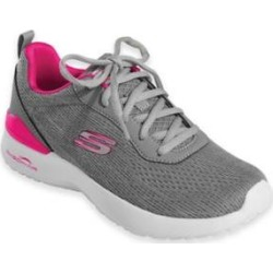 Women's Skechers Skech-Air Dynamite, Gray/Hot Pink Grey 6.5 W Wide, Fabric Lining found on Bargain Bro from Blair.com for USD $53.19