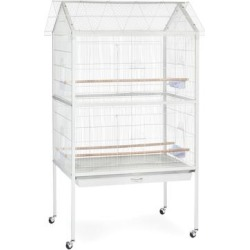 Prevue Pet Products Flight Aviary White Bird Cage found on Bargain Bro from petco.com for USD $370.11
