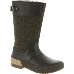 Merrell Haven Tall Buckle Waterproof - Womens 7.5 Brown Boot Medium found on Bargain Bro Philippines from ShoeMall.com for $107.99