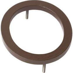 Montague Metal Products Inc. 8 in. Floating Mount House NumberMetal in Brown, Size 8.0 H x 7.19 W x 0.375 D in   Wayfair MHN-08-F-SD1-0 found on Bargain Bro Philippines from Wayfair for $20.13