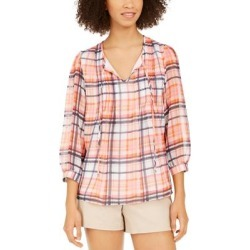 Tommy Hilfiger Womens Blouse Layered Dressy - Pink found on Bargain Bro from Overstock for USD $23.32