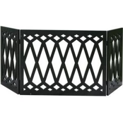 Etna 3 Panel Diamond Pet Gate, Black found on Bargain Bro India from Chewy.com for $39.99