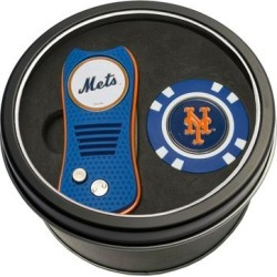 New York Mets Switch Chip Golf Tin Set found on Bargain Bro India from Fanatics for $24.99
