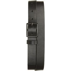 Flat Strap Leather Belt - Black - AllSaints Belts found on Bargain Bro from lyst.com for USD $60.04