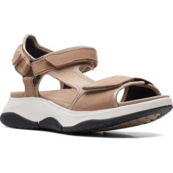 Clarks Wave 2.0 Skip Sandal - Natural - Clarks Flats found on Bargain Bro India from lyst.com for $110.00
