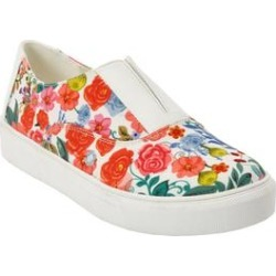 Extra Wide Width Women's The Maisy Sneaker by Comfortview in Gardenia Floral (Size 7 1/2 WW) found on Bargain Bro Philippines from Ellos for $54.99