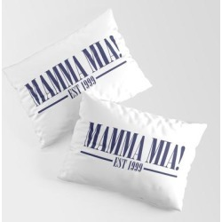 King Size Pillow Sham | Mamma Mia by Ampun-dj - STANDARD SET OF 2 - Cotton - Society6 found on Bargain Bro from Society6 for USD $30.39