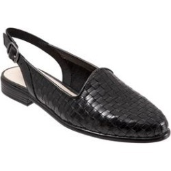 Extra Wide Width Women's Lena Slingback by Trotters in Black (Size 8 1/2 WW) found on Bargain Bro India from Woman Within for $104.99