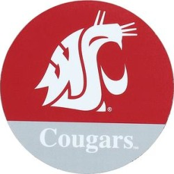 WinCraft Refrigerator Magnets *NO - Washington State Cougars Die-Cut Car Magnet found on Bargain Bro from zulily.com for USD $3.79