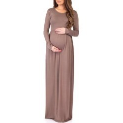 Long Sleeve Womens Ruched Dress with Pockets by Rags and Couture found on Bargain Bro Philippines from Overstock for $24.99