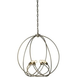 Hubbardton Forge Orb 22 Inch Cage Pendant - 103307-1002 found on Bargain Bro India from Capitol Lighting for $1320.00