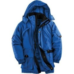 Men's John Blair Insulated Parka, Blue XL Tall found on Bargain Bro Philippines from Blair.com for $80.99