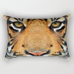 Rectangular Pillow | Tiger by La Chic - Small (17