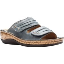 Women's June Sandals by Propet in Denim (Size 9 1/2 M) found on Bargain Bro Philippines from Woman Within for $89.99