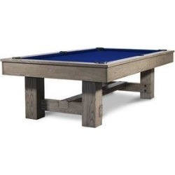 Rocky Slate Pool Table w/Premium Billiard Accessories (Blue - 8 ft. - Slate - Drop - Assembly Required - Tapered - Wool) found on Bargain Bro Philippines from Overstock for $3999.00