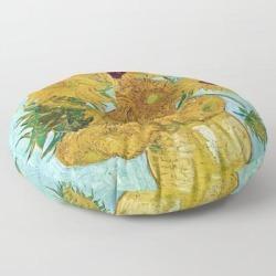 Floor Pillow   Vincent Van Gogh,