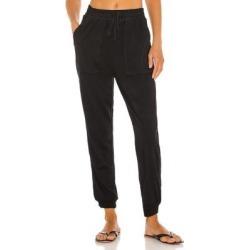 Sateen Lakeside Pant - Black - Splendid Pants found on Bargain Bro from lyst.com for USD $102.60