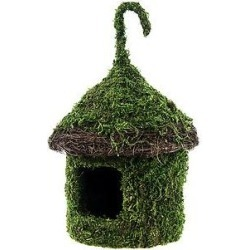 Galapagos Bungalow Deco Birdhouse, Fresh Green found on Bargain Bro India from Chewy.com for $14.99