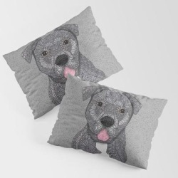 King Size Pillow Sham | Junior by Artlovepassion - STANDARD SET OF 2 - Cotton - Society6 found on Bargain Bro from Society6 for USD $30.39