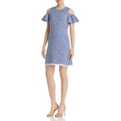 Kate Spade Womens California Dreaming Party Dress Fringe Cold Shoulder found on MODAPINS from Overstock for USD $139.04