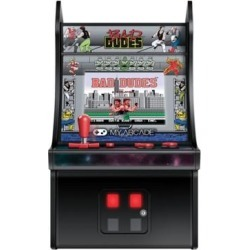 My Arcade DGUNL-3214 Bad Dudes Micro Player - Grey found on Bargain Bro Philippines from Overstock for $67.54