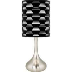 Hexahedron Giclee Droplet Table Lamp found on Bargain Bro Philippines from LAMPS PLUS for $89.99