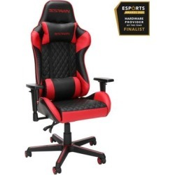 RESPAWN 100 Racing Style Gaming Chair in Red - OFM RSP-100-RED found on Bargain Bro Philippines from totally furniture for $245.97