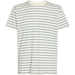 Striped Miles T-shirt - Blue - Rag & Bone T-Shirts