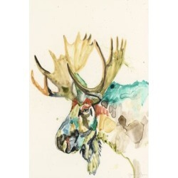 Marmont Hill - Handmade Hi Fi Wildlife IV Print on Wrapped Canvas found on Bargain Bro Philippines from Overstock for $137.49